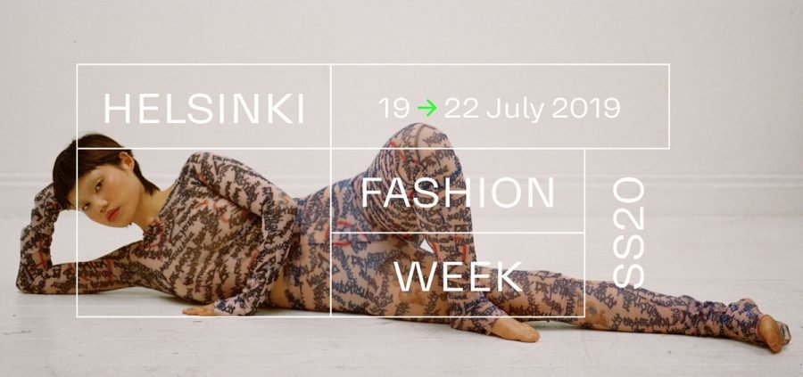 helsinki fashion week mainoskuva