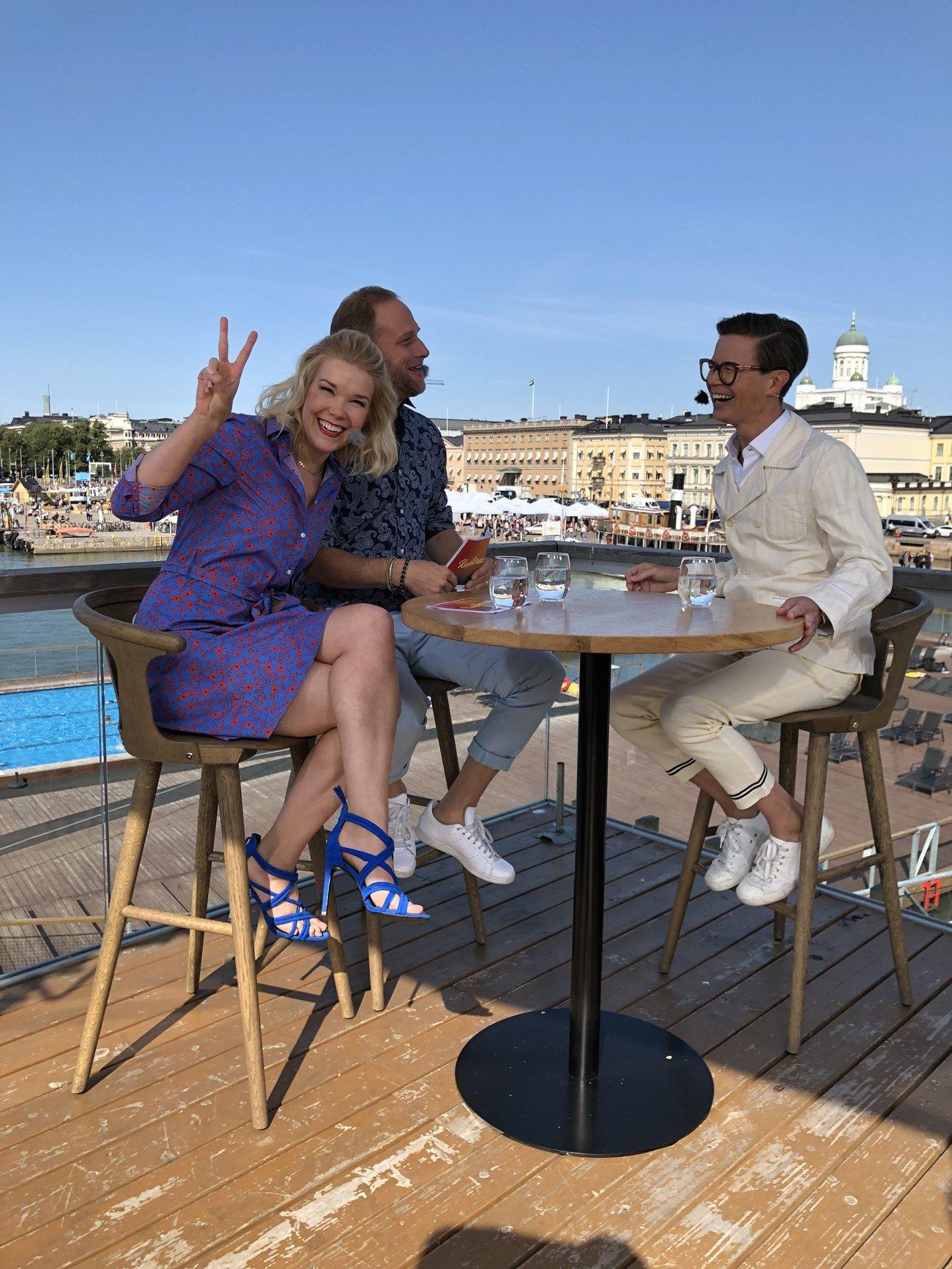 Sami Sykkö Kesäterassi-ohjelman haastattelussa